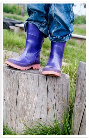 Climbing boots
