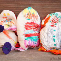 Easy Easter Craft – Egg-citing Egg-bag People.