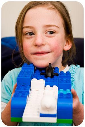 Zoe built Antarctica!