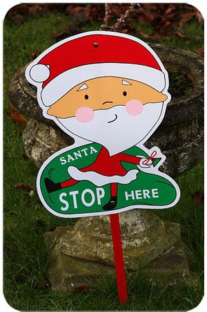 Santa Don't Stop Here.