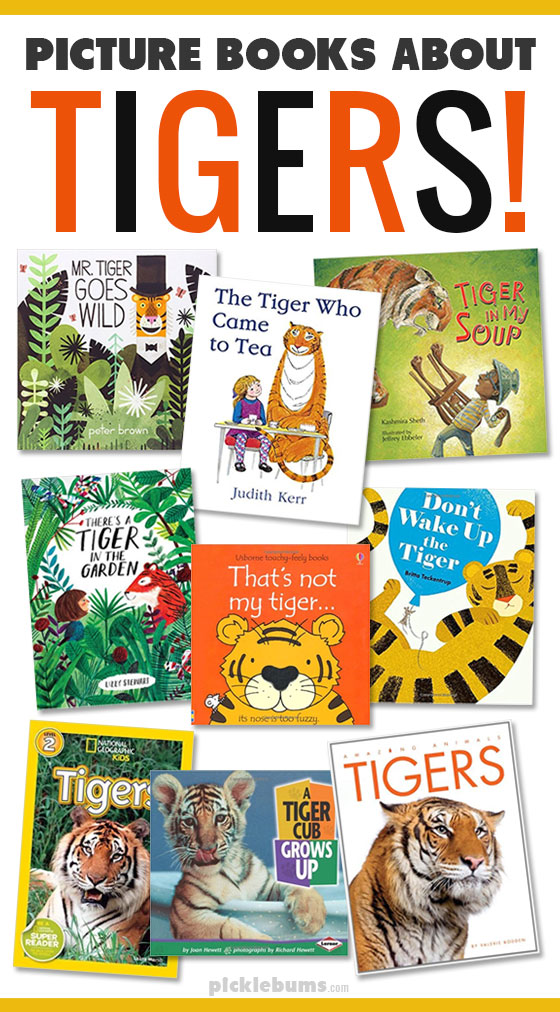 Terrific picture books about tigers!
