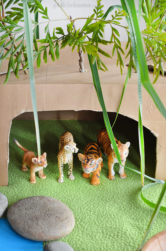 A House for a Tiger - easy imaginative play plus extension ideas