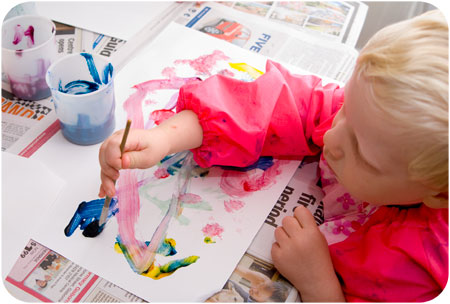 Kids and Learning – Let Go and Create!
