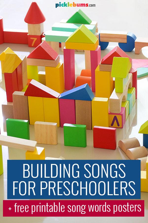 building songs for preschoolers