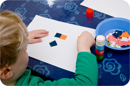 art for kids simple collage