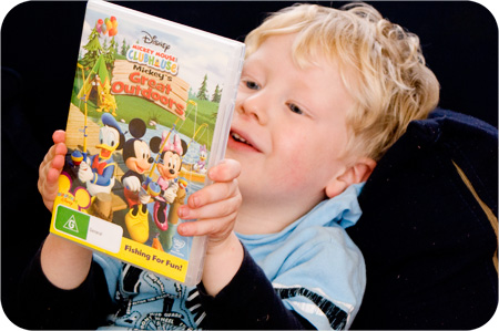 Mickey Mouse Great Outdoors DVD Nuffnang