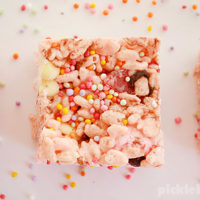 Fairy Fudge - a fun, rice krispie treat recipe the kids can make