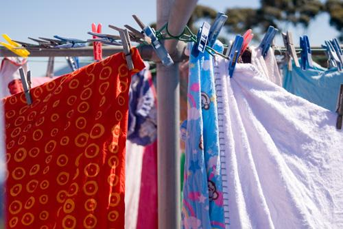 drying washing