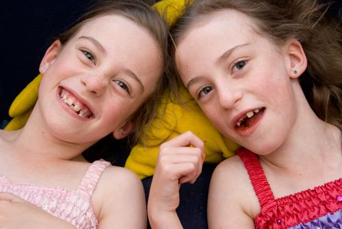 twins friends