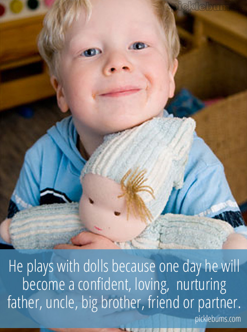 Do Boys Play With Dolls? Here is why my boys play with dolls!.