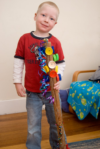 Music for Kids – Make A Music Stick.