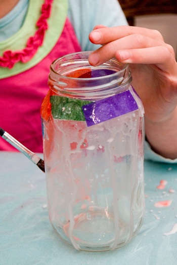 Easy Art for Kids – Make a Lantern