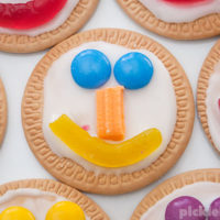 Quick and Easy Face Cookies
