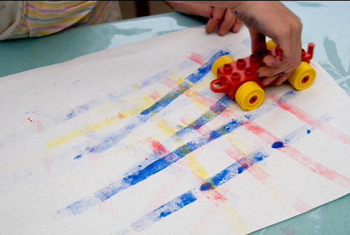 duplo painting