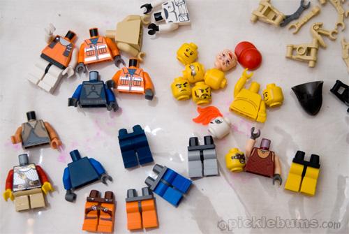 lego body parts