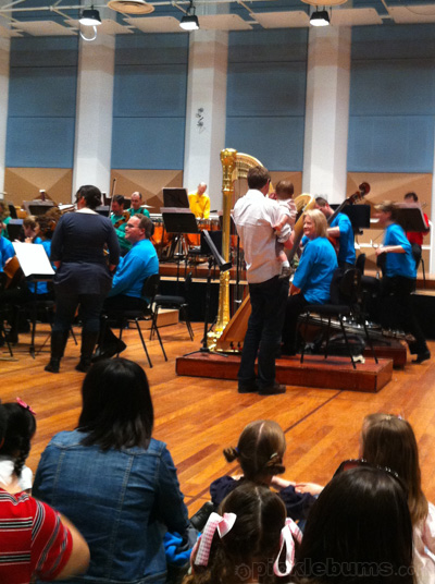 Melbounre Symphony orchestra childrens events
