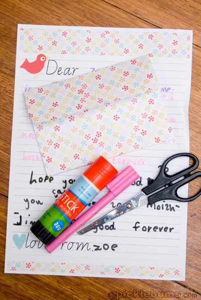 printable kids writing set