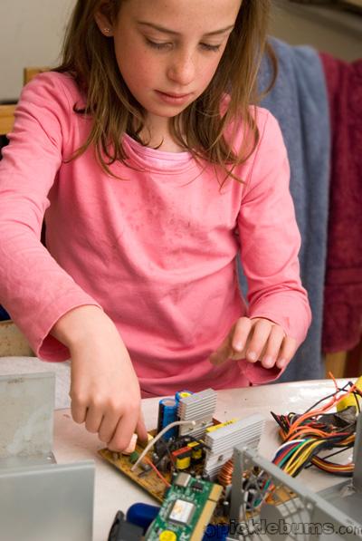 activities for kids - wrecking apart