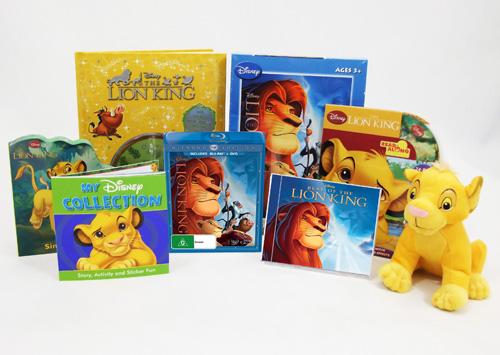 Lion King Prize pack