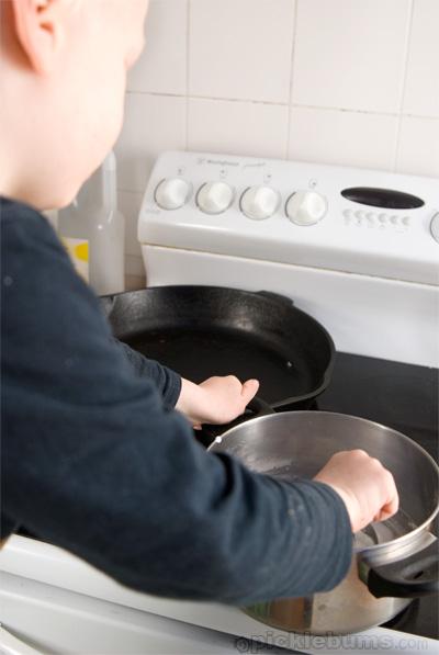 corn flour paste recipe