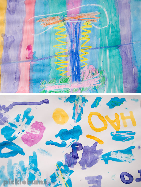 DIY Marker Paint - from old dried up markers to liquid water colour paints!