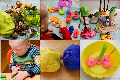 Links to lovely play dough ideas and activities