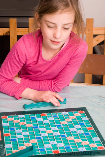 Grown Up Scrabble for kids