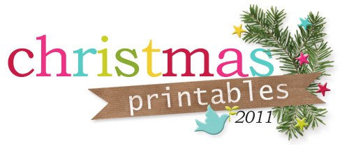 2011 christmas printables series