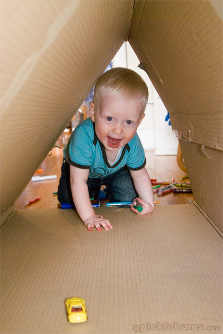 make a box tunnel