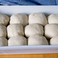 made from scratch bread roll recipe