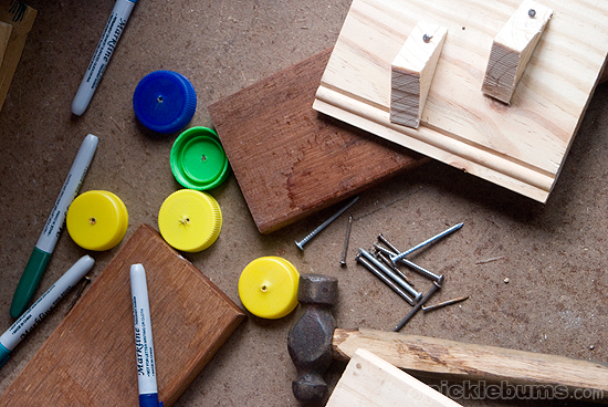 Woodworking with kids - tips for starting a nail for kids