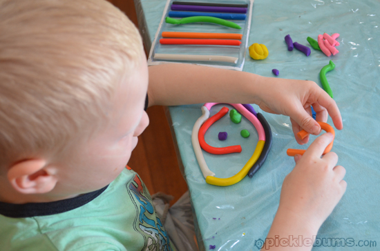 plasticine play