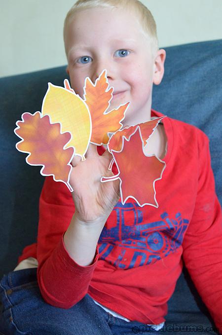 autumn leaf song
