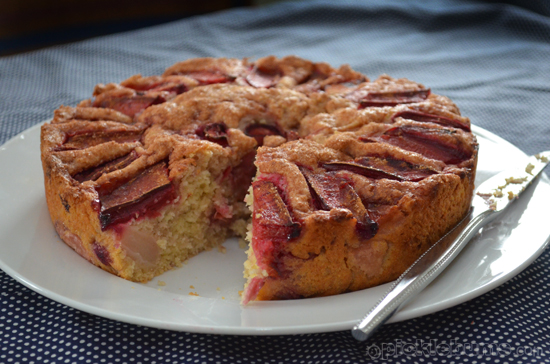 Rhubarb Tea Cake Recipe Picklebums