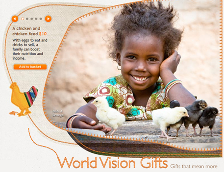 world vision gifts
