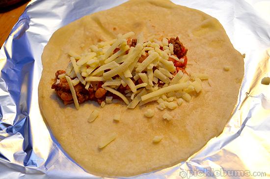 winter burritos