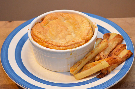 Beef and Veggie Pot Pie Recipe