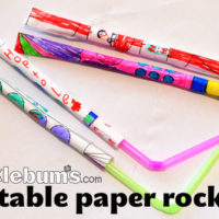 printable paper rockets