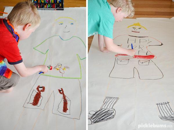 Drawing Myself - Picklebums