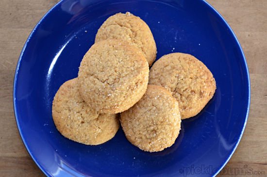 Honey and Spice Cookies