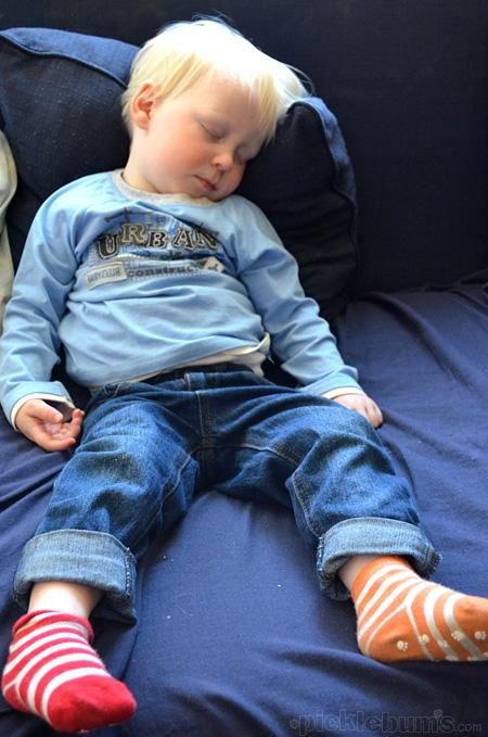 noey sleeping