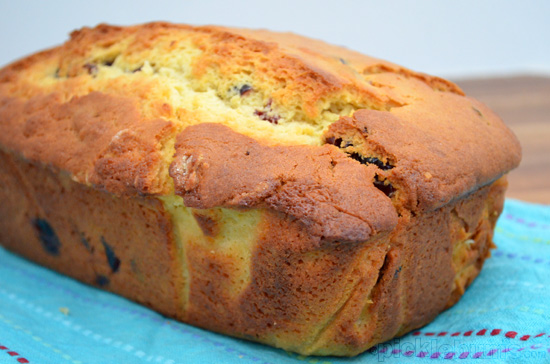 orange and cranberry bread