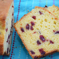 Easy Orange and Cranberry Bread