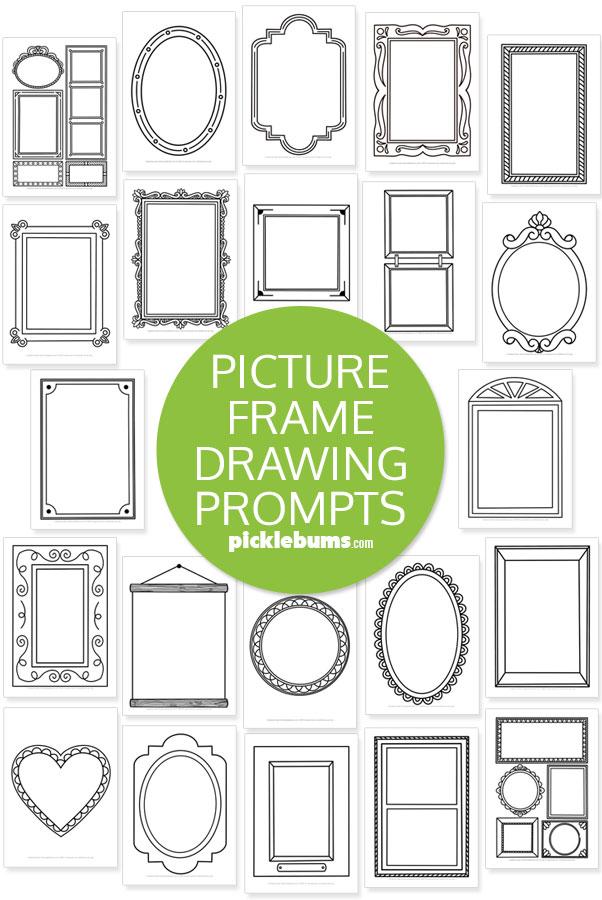 Frame drawing prompts full set