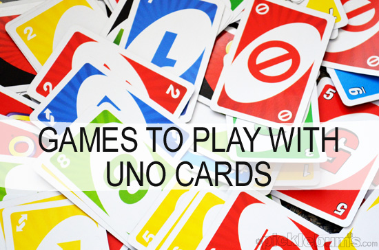 More Than Just Uno Simple Games You Can Play With Uno Cards
