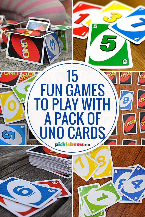 fun games to play with uno cards