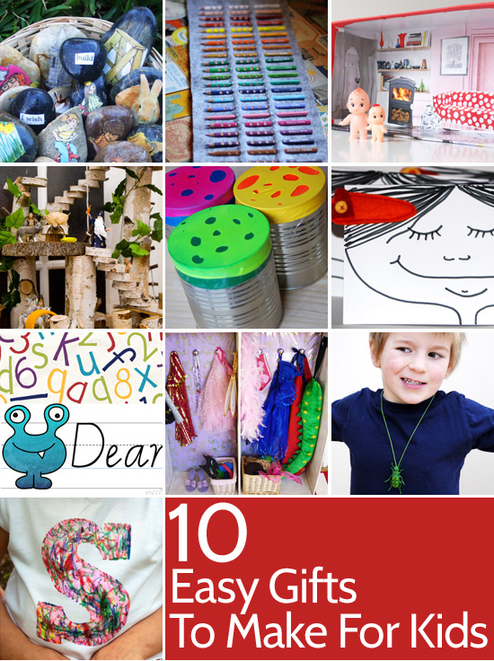 easy gifts to make for kids