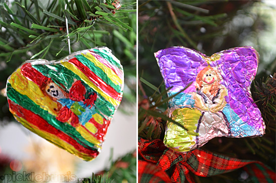 Easy Tin Foil Christmas Decorations   Picklebums gbeVTBP3