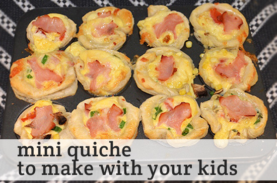 Mini Quiche Creations for Little Critters