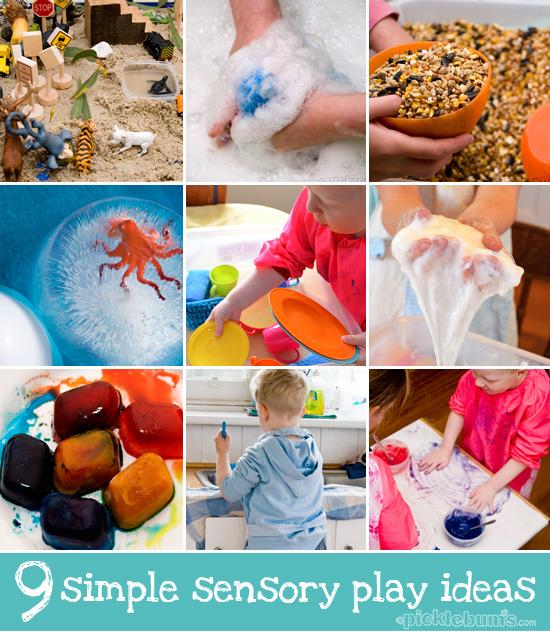simple sensory play ideas